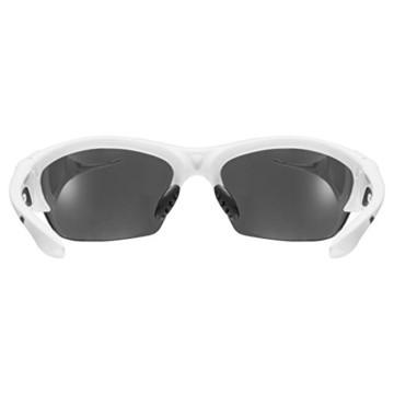 Uvex Unisex Blaze III Sportbrille, One Size, white black - 4