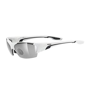 Uvex Unisex Blaze III Sportbrille, One Size, white black - 5