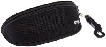 uvex Unisex– Erwachsene, gravic Sportbrille, inkl. Wechselscheiben, black mat/smoke, one size - 6