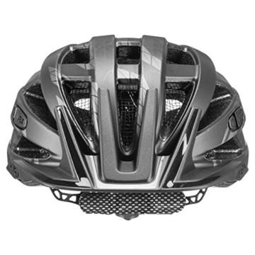 Uvex Unisex– Erwachsene i-vo cc Fahrradhelm, Black-Smoke Mat, 52-57 cm - 2