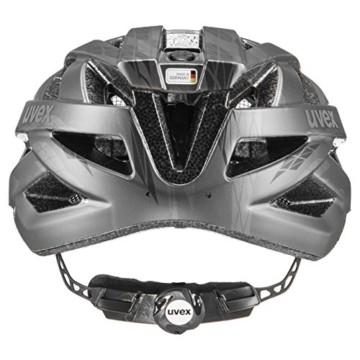 Uvex Unisex– Erwachsene i-vo cc Fahrradhelm, Black-Smoke Mat, 52-57 cm - 3