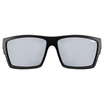 uvex Unisex– Erwachsene, lgl 29 Sonnenbrille, black mat/silver, one size - 2