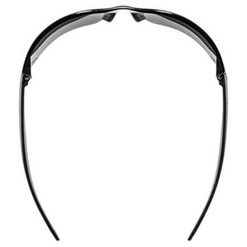 uvex Unisex– Erwachsene, sportstyle 204 Sportbrille, smoke/smoke, one size - 5