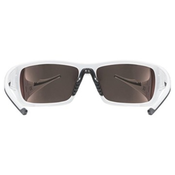 uvex Unisex– Erwachsene, sportstyle 222 pola Sportbrille, polarisiert, white/yellow, one size - 4