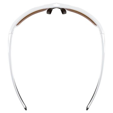 uvex Unisex– Erwachsene, sportstyle 222 pola Sportbrille, polarisiert, white/yellow, one size - 9