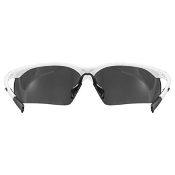 uvex Unisex– Erwachsene, sportstyle 223 Sportbrille, white/silver, one size - 4