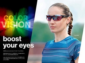 uvex Unisex– Erwachsene, sportstyle 706 cv vm Sportbrille, kontrastverstärkend, selbsttönend, black mat/red, one size - 5