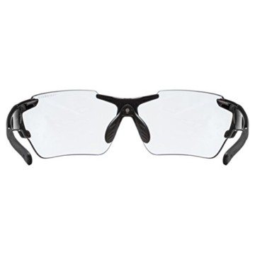 uvex Unisex– Erwachsene, sportstyle 803 race V Sportbrille, selbsttönend, black/blue, one size - 4