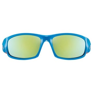 uvex Unisex Jugend, sportstyle 507 Sonnenbrille, blue-orange/orange, one size - 2