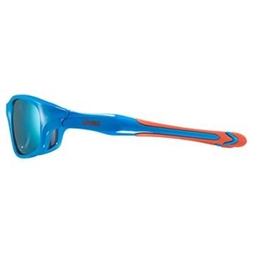 uvex Unisex Jugend, sportstyle 507 Sonnenbrille, blue-orange/orange, one size - 3