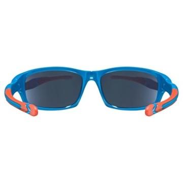uvex Unisex Jugend, sportstyle 507 Sonnenbrille, blue-orange/orange, one size - 4