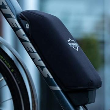 Wheeloo E-Bike Akkuschutz für Bosch Powerpack I Erhöht Laufzeit & Lebensdauer I für Powerpack 300/400/500 CX Performance Active-Line I gegen Kälte und Schmutz I Akku Abdeckung Cover Schutzhülle - 7