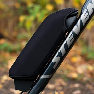 Wheeloo E-Bike Akkuschutz für Bosch Powerpack I Erhöht Laufzeit & Lebensdauer I für Powerpack 300/400/500 CX Performance Active-Line I gegen Kälte und Schmutz I Akku Abdeckung Cover Schutzhülle - 8